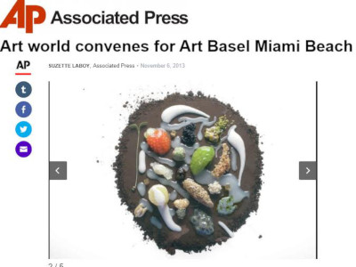 Art world convenes for Art Basel Miami Beach