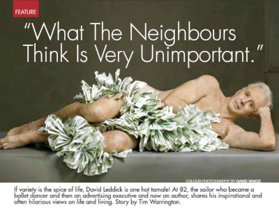 What the Neighbours Think is Very Unimportant